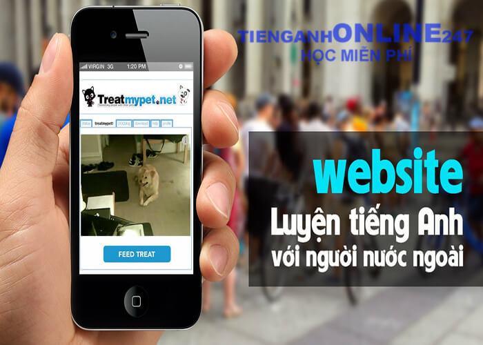 Website học tiếng anh với người nước ngoài