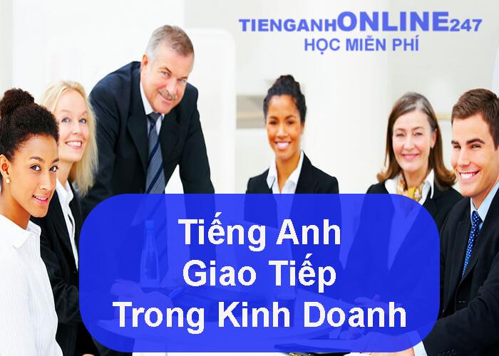 Tiếng Anh giao tiếp trong kinh doanh