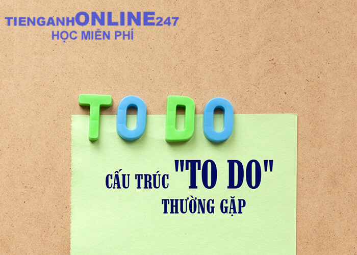 """cấu trúc """"to do"""" trong ngữ pháp tiếng Anh"""