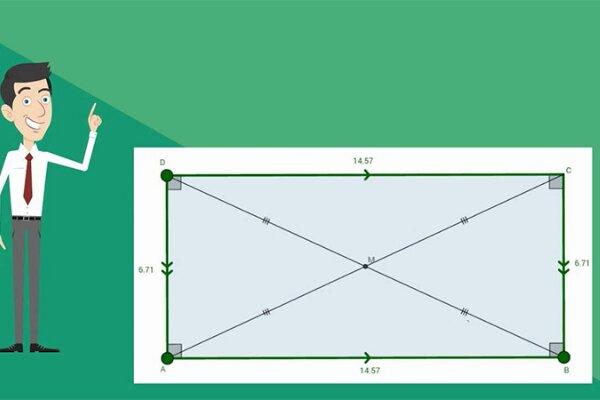 Công thức tính diện tích hình chữ nhật chính xác, đơn giản nhất